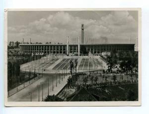 250811 GERMANY BERLIN stadium OLYMPIAD 1936 year RPPC