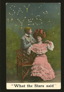 Canada Postmark 1910 Toronto Ont What The Stars Said Marriage Proposal Postcard