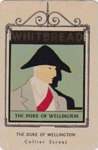 Whitbread Brewers Vintage Metal Trade Card Inn Signs 1st Series 1949 No 47 Du...