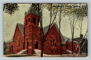 Delphos OH-OHIO, Presbyterian Church, Vintage Postcard