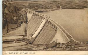 Claerwen Dam Elan Valley Rhayader Wales