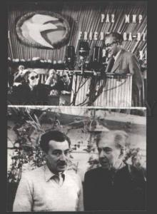 115470 EHRENBURG & Jorge AMADO Writers old PHOTO Russian PC