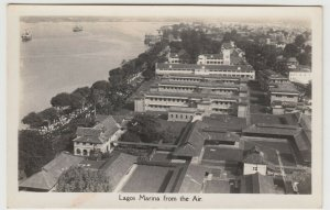Nigeria; Lagos Marina, From The Air RP PPC From CMS Bookshop, Unused