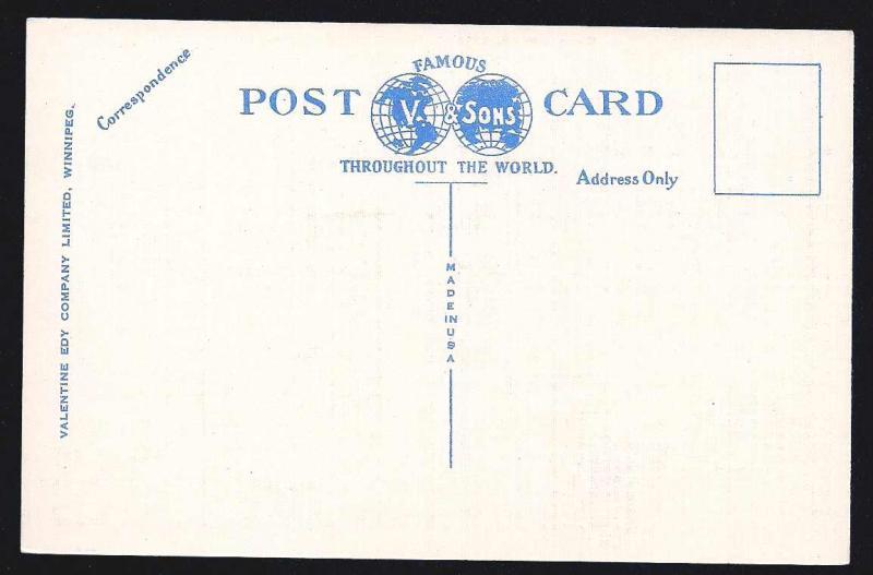 Portage Avenue Winnipeg Manitoba unused c1930's