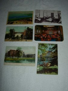 Columbus OH - Lot Of 6 Great Vintage Postcards - x0572