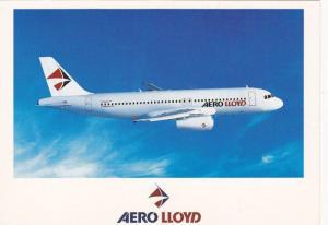 AERO LLOYD Airlines Airbus A320 Airplane , 60-80s