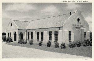 MASON, Texas, 1930-40s ; Church of Christ
