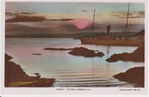 SUNSET, VICTORIA HARBOUR, VICTORIA, BC