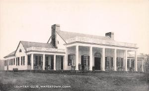 Country Club, Watertown, Connecticut, Early Postcard, Unused