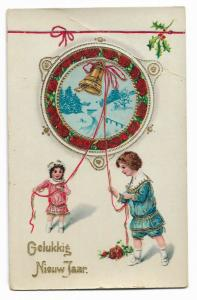 Happy New Year Holland Postcard 01.13