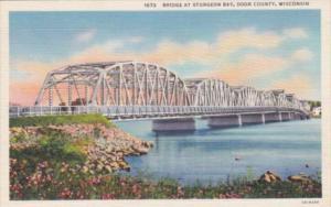Wisconsin Door County Bridge At Sturgeon Bay Curteich
