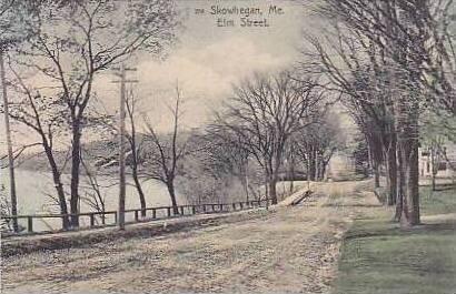 Maine Skowhegan Elm St