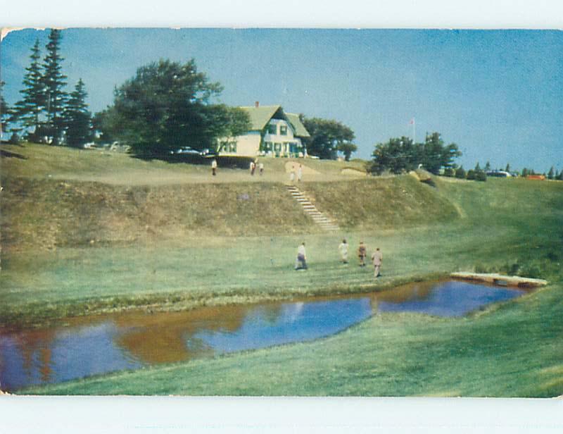 Pre-1980 TOWN VIEW SCENE Cavendish Prince Edward Island PE p9601