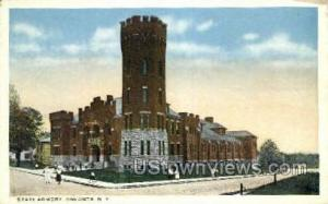 State Armory Oneonta NY Unused