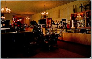 Denali National Park Alaska Postcard McKINLEY PARK HOTEL Lobby & Gift Shop