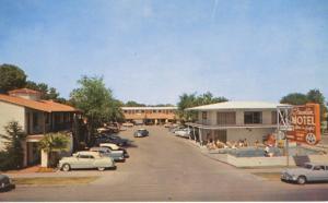 Franklin Motel ~ Las Vegas Nevada NV ~ Old Cars Vintage Postcard