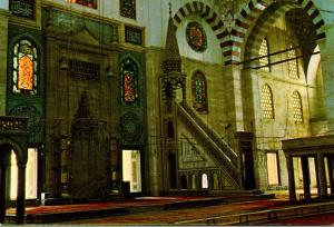 Turkey Istanbul Interior Of Soliman The Magnificent
