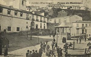 portugal, COVILHAN COVILHÃ, Praça do Município (1913)