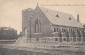 PRINCE ALBERT, Saskatchewan, Canada, 00-10s: English Church & Bishop Court