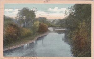 New York Tioughnioga River Near Cortland 1921