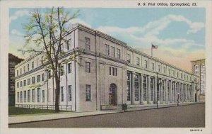 Illinois Springfield U S Post Office