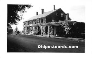 Old Vintage Shaker Post Card Building with vines Unused