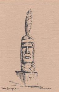 Ocean Springs , Mississippi , 1978 ; Indian Monument