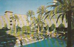 Swimming Pool And Patio At Hotel Westward Ho Phoenix Arizona 1960