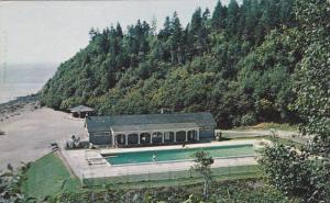 Swimming Pool , Fundy National Park , New Brunswick , Canada, 40-60s