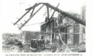 Tornado Septemeber 27th 1927 St. Louis MO Unused