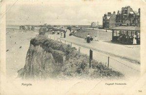 Margate Flagstaff promenade Victoria series postcard