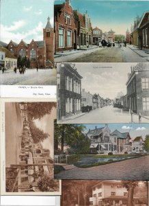 Netherlands Holland Small Villages Postcard Lot of 20 01.11