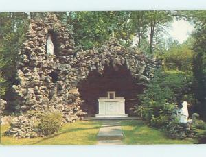 Unused Pre-1980 CHURCH SCENE Bloomfield Hills - Near Detroit Michigan MI A5795