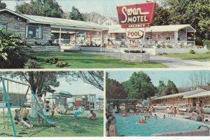 BILOXI, Mississippi, 1950-60s ; Swan Motel