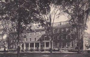 Maine Lewiston Parker Hall Bates College Albertype