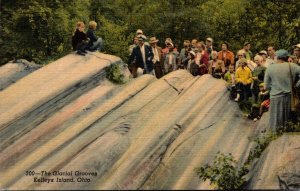Ohio Kelley's Island The Glacial Grooves Curteich