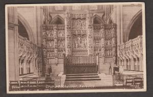 United Kingdom Churches - Truro Cathedral Reredos 1947- Internal View