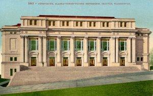 WA - Seattle. Alaska-Yukon-Pacific Exposition, 1909. Auditorium