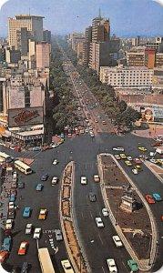 Vista Panoramic de Avenue Mexico Tarjeta Postal Unused