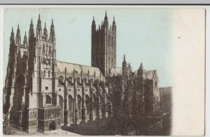 Kent; Canterbury Cathedral SW PPC 1904 PMK, To Lance Simmons, Watford