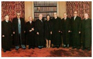 Sandra Day O'Connor on US Supreme Court Washington DC Vintage Postcard