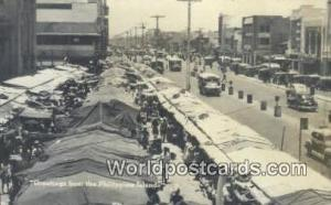 Philippines, Pilipinas Philippine Islands  Real Photo