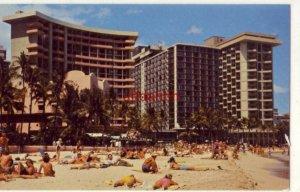 WAIKIKI BEACH, HAWAII popular spot for sunbathers Photograph by Loye Guthrie