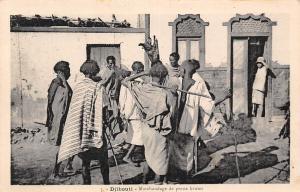 Djibouti Marchandage de peaux brutes