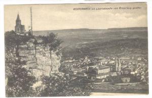 Echternach Mit Liboriuskapelle Vom Ernzerberg Gesehen, Luxembourg, 1900-1910s