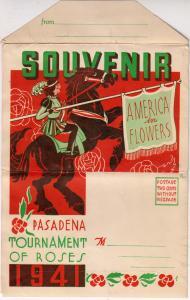 Folder - 1941 Pasadena Tournament of Roses, 16 Pictures