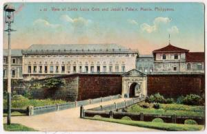 Santa Lucia Gate & Jesuit's Palace, Manila, Philippines