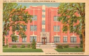 West Virginia Parkersburg Camden Clark Memorial Hospital