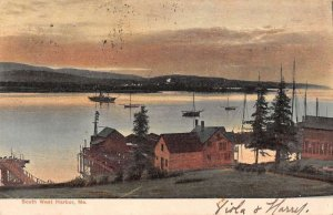 South West Harbor Maine Scenic View Vintage Postcard AA14223