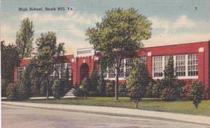 Virginia South Hill High School 1952